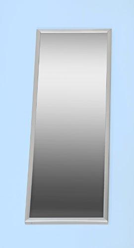 5077-10 - Spiegel, mit Metall - Rahmen in Edelstahl - Optik, Metallrahmen optik