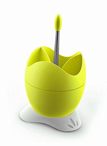 Polistirene-Scolaposate BIESSE CASA con contenitore per l'acqua e impugnatura, colore: giallo