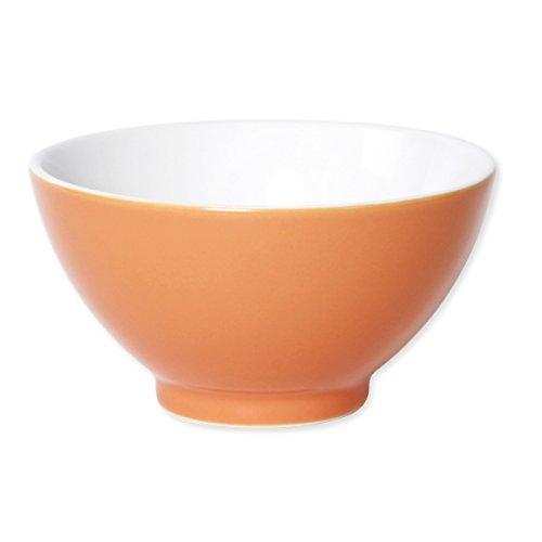 Bruno Evrard Bol Orange en Porcelaine 55cl - Lot de 4 - SLACO