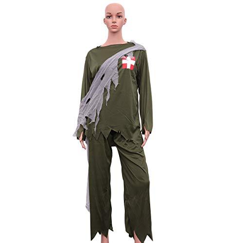- Zombie Armee Mann Kostüm