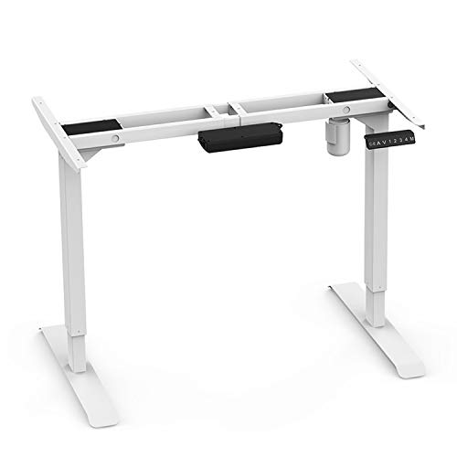 AIMEZO 45' H Elektro Stand Up Desk Frame Einzelmotor 2 Bühne Ergonomisch Einstellbare Stehpult...