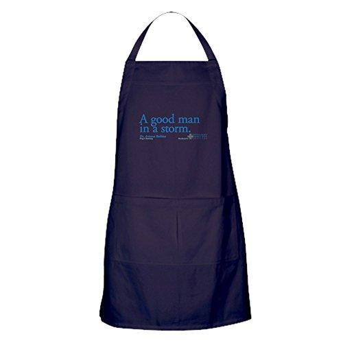 CafePress Tablier de cuisine avec poches Good Man Gris Anatomie