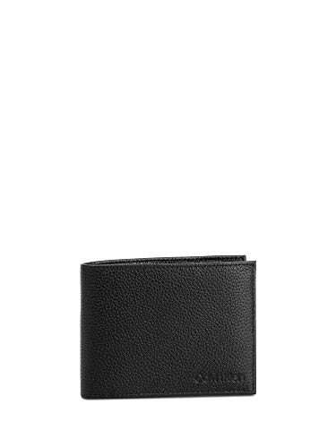 Calvin klein jeans k50k504452 portafogli uomo nero uni