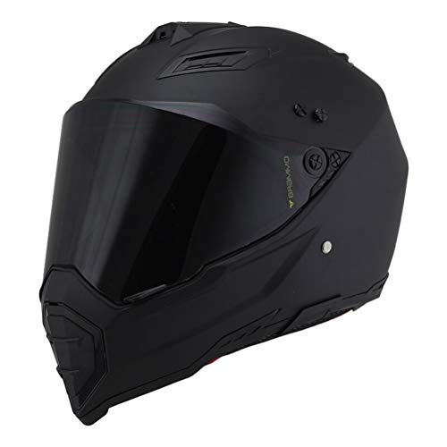 Unisex adulto Off Road Casco integrale del motociclo antifog Suanproof casco della moto con visiera traspirante moto motocross tappi di sicurezza