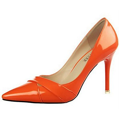 Moda Donna Sandali Sexy donna tacchi tacchi estate pu Casual Stiletto Heel altri Nero / Marrone / rosa / fucsia / Orange / Burgundy Altri Brown