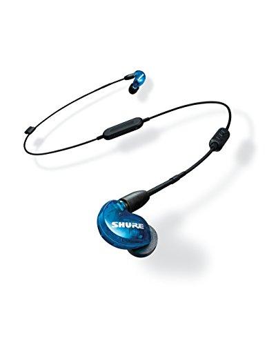 Shure SE215SPE-B-BT1-EFS Bluetooth In-Ear Kopfhörer mit passiver Geräuschunterdrückung für iOS & Android - Premium Ohrhörer mit warmem & detailreichem Klang - Special Edition: Blau thumbnail