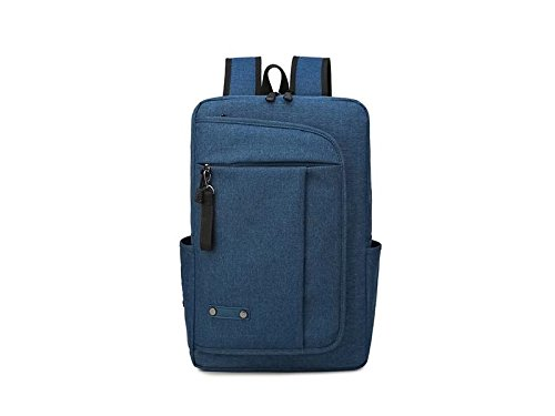 HOUHOUNNPO Perfect 15.6 Inch Anti-Theft Laptop Computer Backpack for Student Business Man Women-Deep Blue