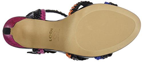 LODI Yumalay1, Sandales avec Sangle Cheville Femme Multicolore (Lai Africano)