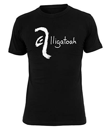 Alligatoah T-Shirt Crayon Logo, Farbe:schwarz, Größe:L
