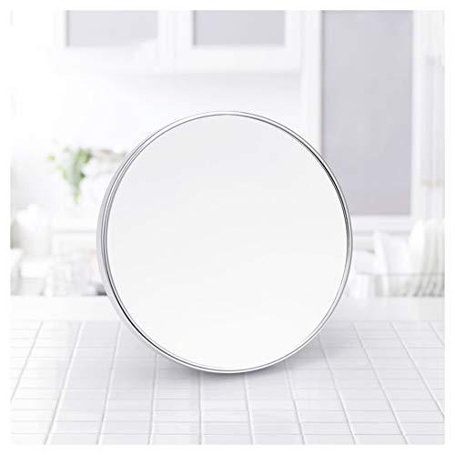 DGYAXIN Redondo Espejo Baño, Amplificación 5X con Ventosa Espejo Maquillaje Práctico Accesorio Ducha...
