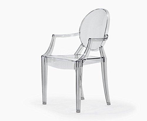 Philippe Starck Sedie.Ghost Sedia Philippe Starck Replica