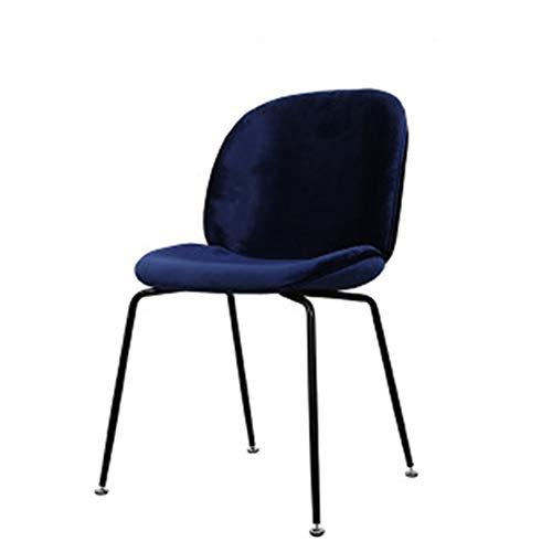 L.BAN Essstühle Weicher Sitz Wohnzimmer Stühle mit Robuste Metallbeine Küchenstühle, Esszimmer Rezeption Bürostühle