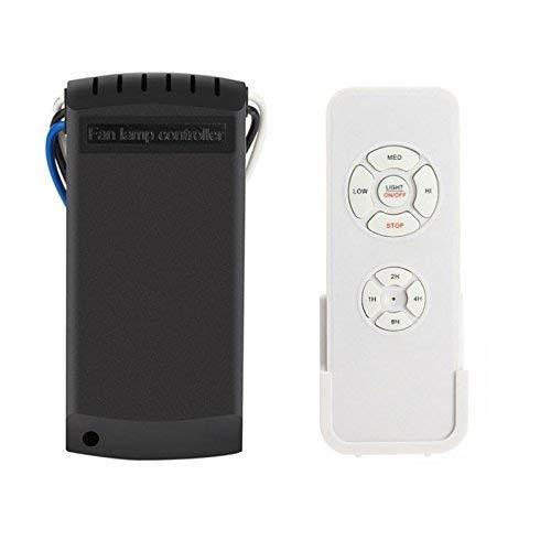Fishyu Universal-Deckenventilator Licht Lampe Timing Wireless Remote Control Kit 220V