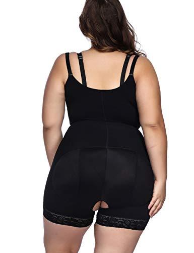 FeelinGirl Damen Shapewear Bauch Weg Figurformender Miederhosen Taillenformer Miederpants Miederslip Body Shaper - 4