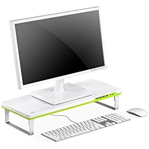 DEEPCOOL M-DESK F1 es un soporte para monitor fácil de usar tanto para monitores de escritorio como para portátiles. Es un dispositivo exquisito y a la moda.