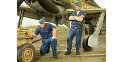 Super Wing Series SWS de 002F09-Figuras Aire Arma Ground Crew for ta152h de 1