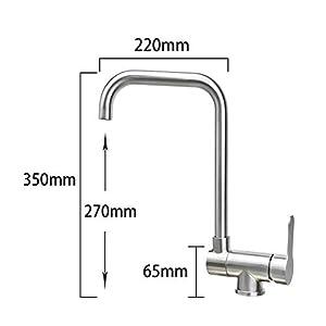 304 cocina de acero inoxidable sin ventana grifo fregadero fregadero lavavajillas lavavajillas lavabo piscina plegable…