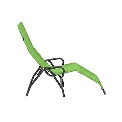 MFG 2603320 Bäderliege Pool 3 Gestell anthrazit/Bezug limette von MFG bei Gartenmöbel von Du und Dein Garten