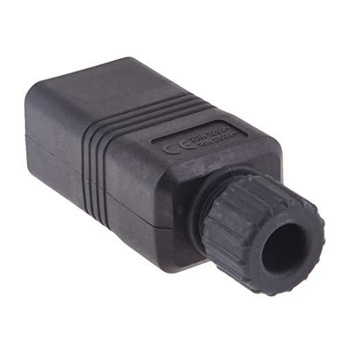 perfk IEC 320 C20 3-poliger AC-Netzteil-Erweiterung DIY Wiederinstallierbare Stecker -
