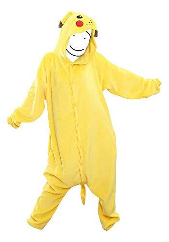 Pokemon Anime Pikachu Medium Bodysuit Pyjama (Pokemon Strampelanzug Kostüm)