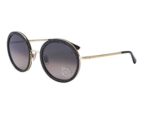 Etnia Barcelona Sonnenbrillen (BEVERLY HILLS BKGD) glitzer gold - schwarz - grau-braun verlaufend
