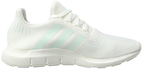adidas Swift Run, Scarpe da Ginnastica Basse Donna Bianco (Footwear White/grey One/ice Mint)