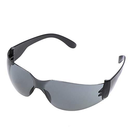 Schwarze Randlose Brillen (EDSWXT Schutzbrillen Radfahren Sonnenbrille Outdoor Unisex Brille Randlose Sport, Schwarz Grau)