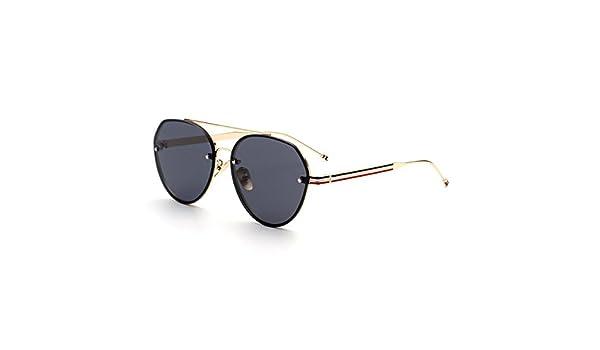 WKAIJC Retro Männer Und Frauen Bunt Sonnenbrille Persönlichkeit Kreativität Piloten Mode Jurte Sonnenbrillen,C