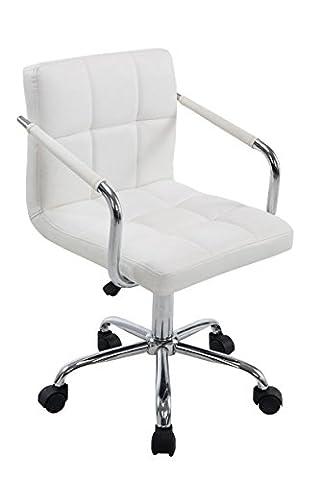 Chaise de bureau Lucy V2Blanc