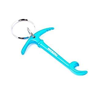 Munkees Key Bottle Opener Ice Axe, aluminium, blue