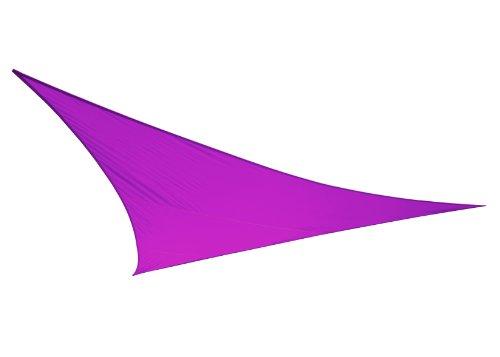 Voile d'Ombrage Violet Triangle 3,6m - Imperméable - 160g/m2 - Kookaburra
