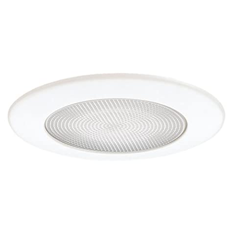 Sea Gull Lighting 11135AT-15 Shower Trim With Albalite Glass And Aluminum Ring