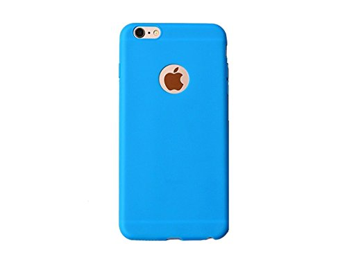 mStick Candy Color Ultra Slim Soft Silicon Back Cover For Apple iPhone 5 / 5S / SE SKY BLUE  available at amazon for Rs.99