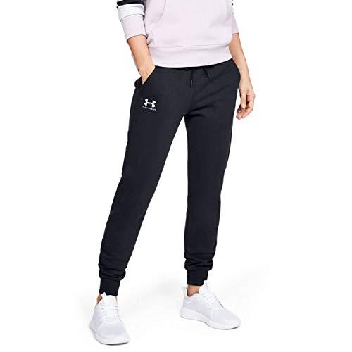 20 Damen-fleece-hosen (Under Armour Damen Rival Fleece Sportstyle Graphic Pant Hose, Schwarz, SM)