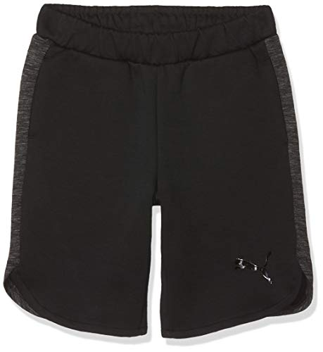 Puma Jungen Evostripe Shorts B Hose, Cotton Black, 140