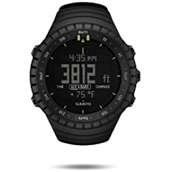Suunto - Core All Black - SS014279010 - Reloj de exterior para todas las altitudes, sumergible (30 m), con altímetro, barómetro - Esfera de composite - Negro