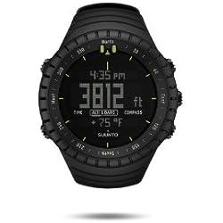 Suunto Core All Black - SS014279010 - Reloj de exterior para todas las altitudes, sumergible (30 m), con altímetro, barómetro y cristal de zafiro, Negro (All Black)