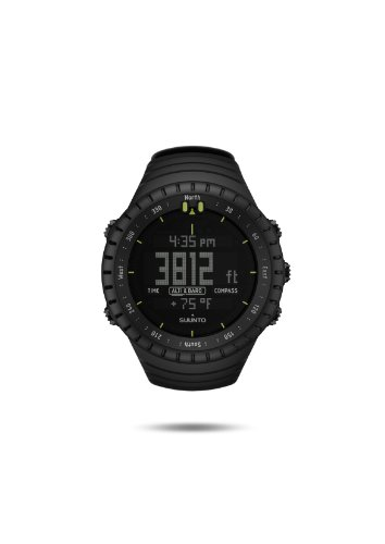 Suunto Unisex Adults Core Watch, All Black, One Size