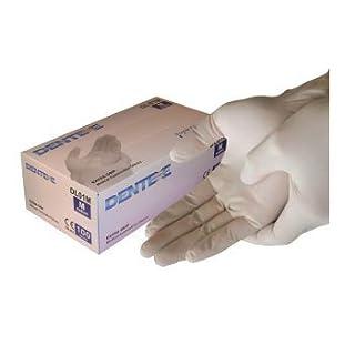 Latex Gloves Powdered Medium (disposable latex gloves) AQL 1.5 Medical Grade