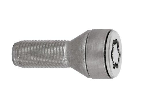27229SL Radsicherungsbolzen SL (Ultra High Security) M14x1.25, Kegelsitz, Schaftlänge 32,0mm, Gesamtlänge der Schraube 54,3 mm, SW17, Schlüsseldurchmesser 28,6 mm