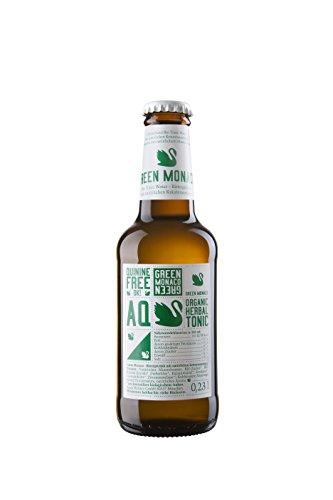 12 Flaschen Green Monaco Organic Herbal Tonic Water München a 230ml chininfreies Bio Tonic Water
