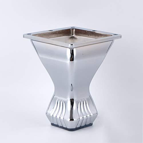 Gambe di mobili in acciaio inox Piedini per mobili Tavolino per mobile Tavolino per mobile TV Gambe di supporto * 1,10.5cm