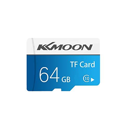 KKmoon Micro SD Karte 32G / 64G / 128G Speicherkarte Klasse 10 Datenspeicherung (Sd-karten 64g)
