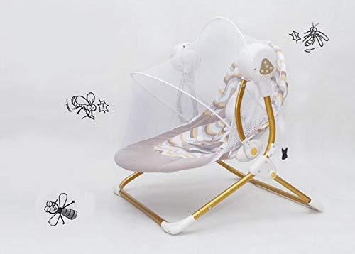 Imagen para JBHURF Silla Mecedora para bebés Silla eléctrica para bebés Silla reclinable reclinable Silla Mecedora Silla Mecedora (Color : Verde)
