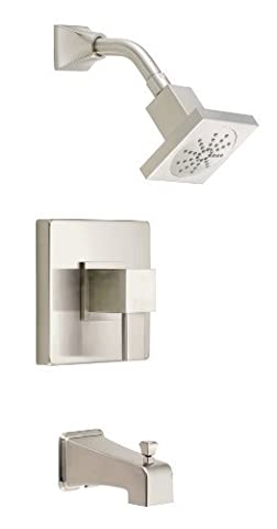 Danze D500033BNT Reef Single Handle Tub and Shower Trim Kit, Brushed Nickel by Danze