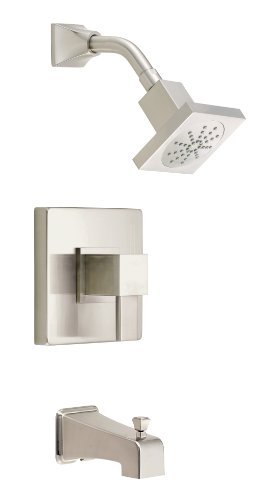 Danze D500033BNT Reef Single Handle Tub and Shower Trim Kit, Brushed Nickel by Danze - Handle Tub Trim Kit