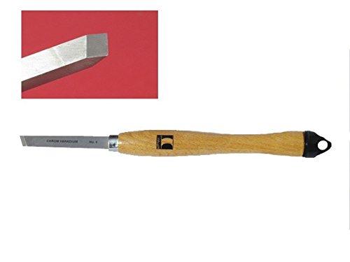 Marke Drechselbeitel Beitel schräg Holz