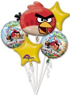 Unbekannt Angry Birds Ballon Bouquet