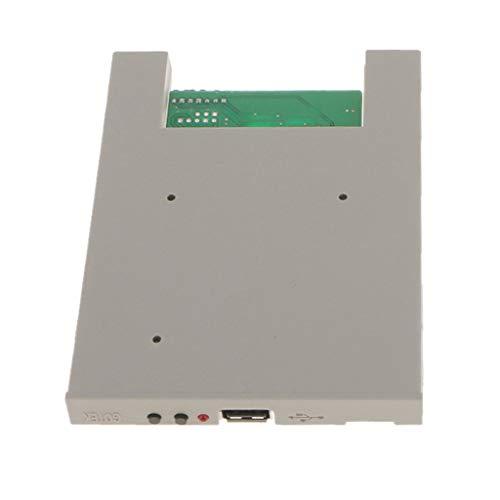 perfk 3,5 Zoll tragbarer USB-Laufwerke 1,44 MB USB-Diskettenlaufwerk Lesegerät SFRM72-DU26