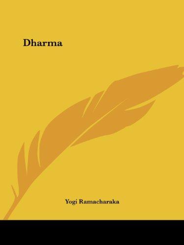 Dharma par Yogi Ramacharaka
